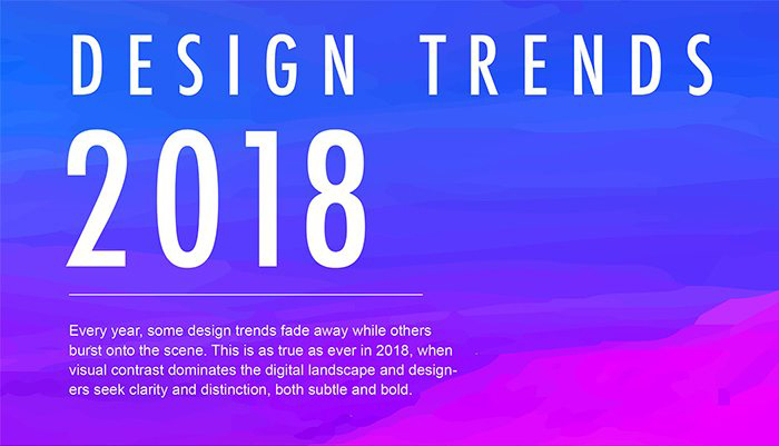 Design Trends 2018 featured image